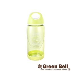 【GREEN BELL綠貝】400ml輕巧防滑隨手杯附止滑墊(綠)
