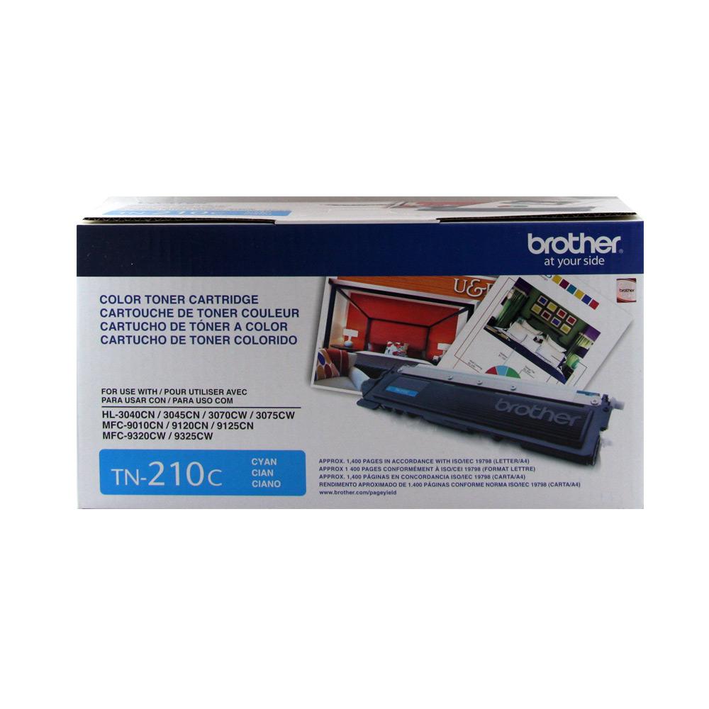 Brother TN-210C   藍色原廠碳粉匣