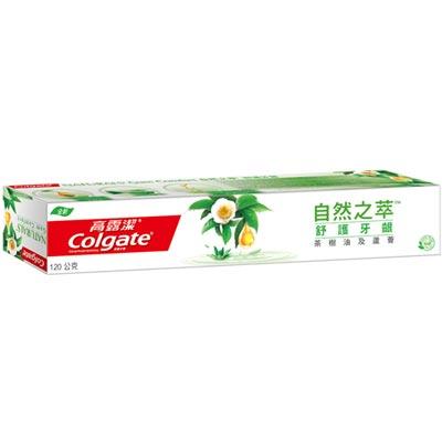 高露潔 自然之萃 舒護牙齦 牙膏 120g