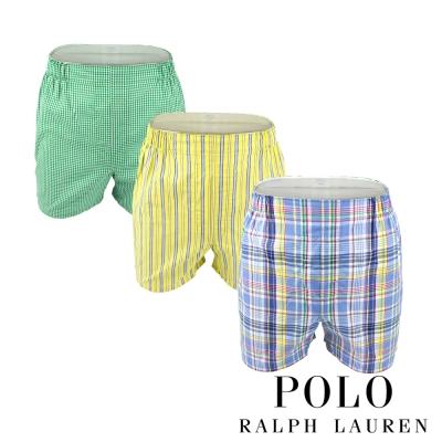 Polo Ralph Lauren 經典馬球純棉平口褲-3入組(P4D)