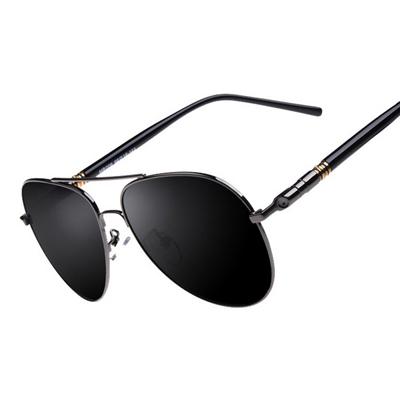 美國熊 經典款式 復古金屬框 抗UV400太陽眼鏡
