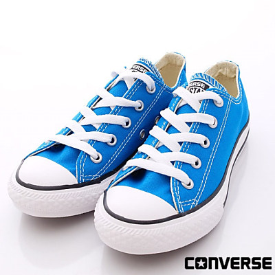 converse童鞋-潮流時尚經典款-349520C藍(中童段)-0