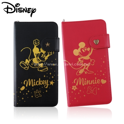 Disney迪士尼iPhone 6/6S Plus(5.5吋)經典復古燙金系列皮套