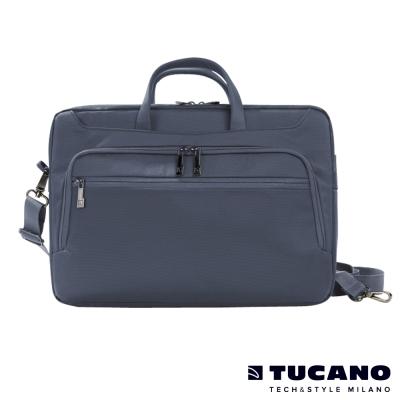 TUCANO WORK_OUT II MB 時尚商務側背包15吋(適用16吋) 藍