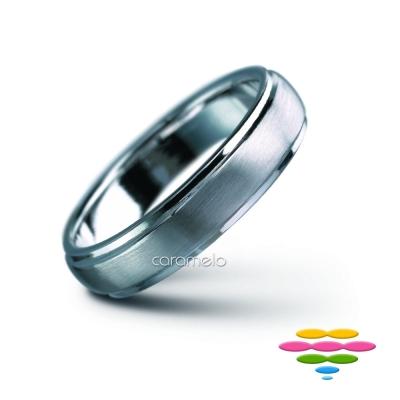 彩糖鑽工坊 K金戒(4mm) 幸褔指輪系列