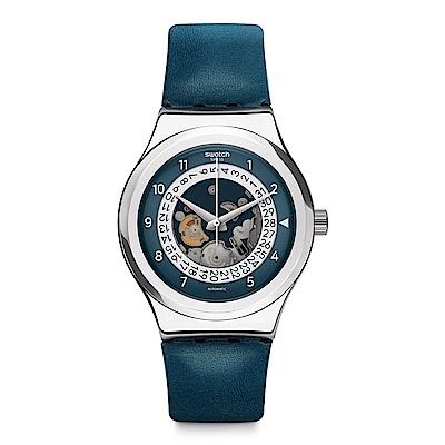 Swatch 51號星球機械錶 SISTEM THROUGH 星空穿越手錶