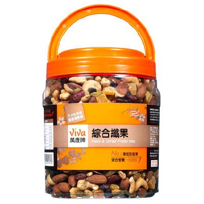萬歲牌 綜合纖果罐(670g/罐)