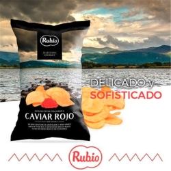 RUBIO 五星級洋芋片-魚子醬風味(110g)
