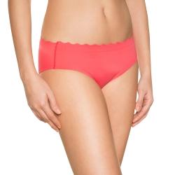 法國DIM-完美隱型波浪型褲頭無痕小褲-珊瑚粉