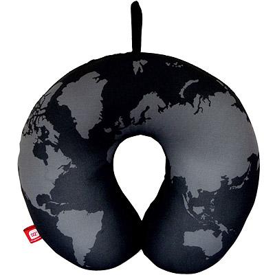 DQ Neck 緩衝顆粒護頸枕(地圖)