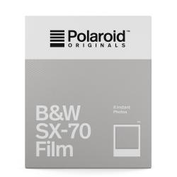 Polaroid B&W Film for SX-70 黑白底片(白框)/2盒