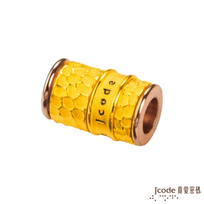J'code真愛密碼 愛之印黃金/白鋼串珠