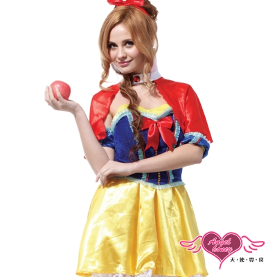 天使霓裳 戀愛魔鏡 童話故事 角色扮演服(紅黃F)