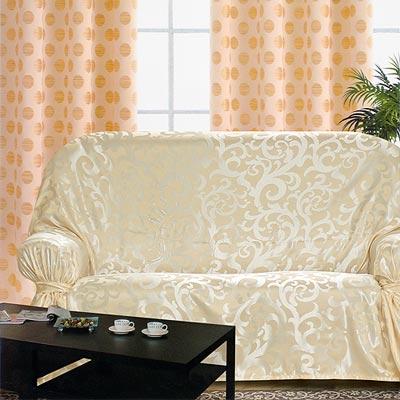《布安於室》蔓澤DIY3人座沙發罩-米