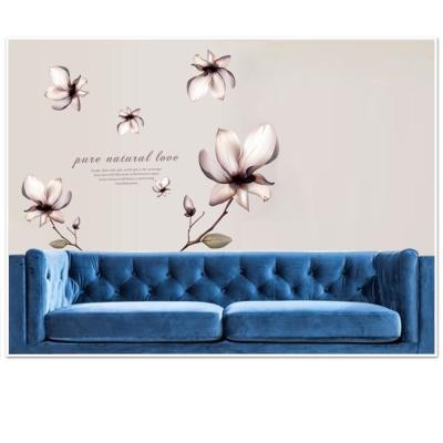 B-079花草系列-立體花影 大尺寸高級創意壁貼 / 牆貼