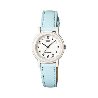 CASIO馬卡龍甜心魅力皮帶腕錶LQ-139L-2B-粉嫩藍26mm