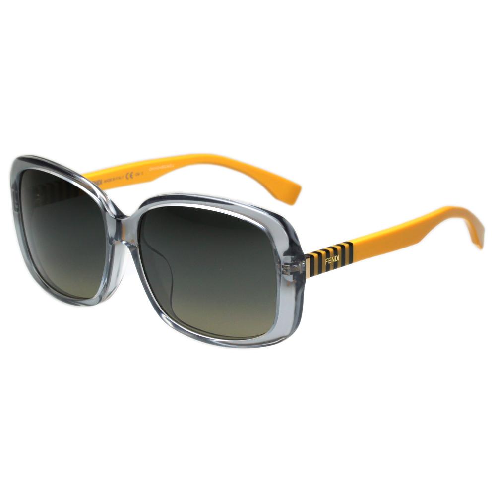FENDI 時尚太陽眼鏡 (灰藍色)FF0071FS