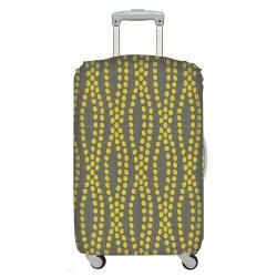 LOQI 行李箱套 - 大地【M號適用22-27吋行李箱】