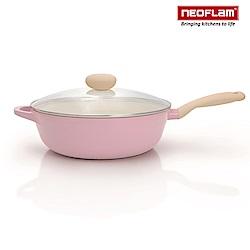 韓國NEOFLAM Retro粉紅公主鍋系列陶瓷不沾
