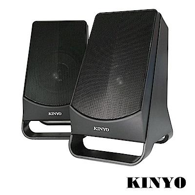 KINYO USB供電2.0多媒體音箱(US-213)