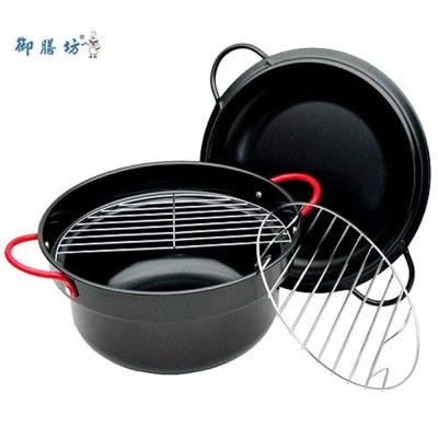 御膳坊多爐具使用4件式24公分油炸鍋組-K167-03