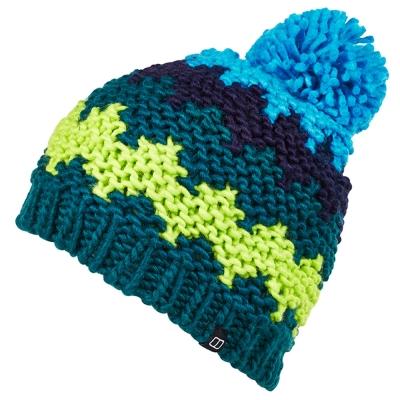 【Berghaus貝豪斯】造型毛線帽H41XP0-藍