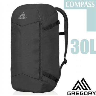 【美國 GREGORY】Compass 30L 全開式登山健行後背包_軍用黑