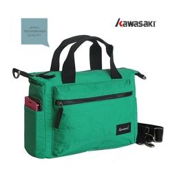 KAWASAKI多功能平板手提包附活動式背帶