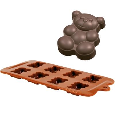 IBILI 八格巧克力模(小熊)
