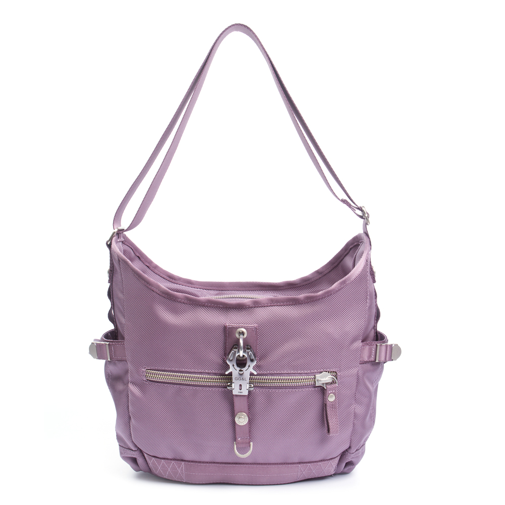GG&L-GO HK肩斜兩用包-芋紫