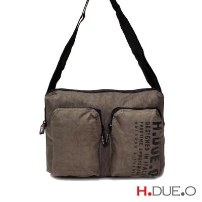 義大利H-DUE-O-極限運動多功能側背包-棕色