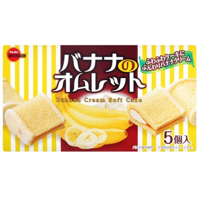 Bourbon北日本 香蕉蛋糕(95g)