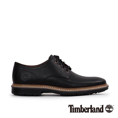 Timberland 男款黑色素面綁帶休閒鞋 @ Y!購物