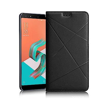 Xmart for ZenFone 5Q ZC600KL 渴望完美真皮磁吸皮套