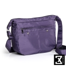 74盎司 馬鞍型尼龍斜背包[TG-162]紫
