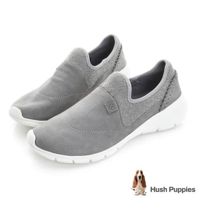 Hush Puppies EIREEN 輕量直套式健走鞋-灰色