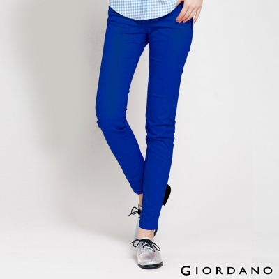 GIORDANO-女裝低腰修身剪裁窄腳牛仔褲-41