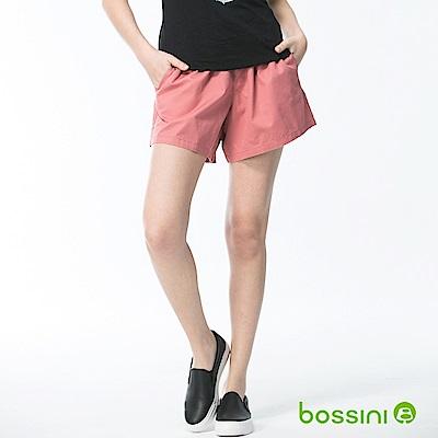 bossini女裝-素色輕便褲裙01玫瑰色