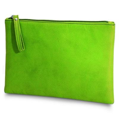 GIORGIO FEDON 1919  CHARME 迷幻   隨身大包筆袋-綠