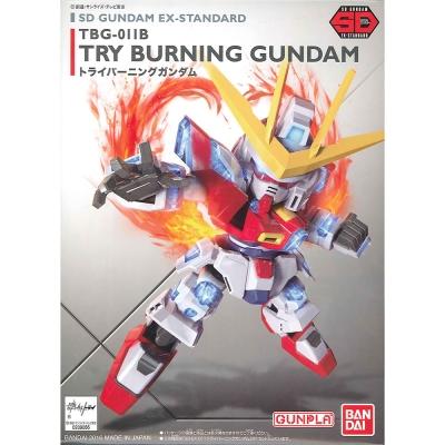 任選 BANDAI SD鋼彈 EX-S系列 TRY燃燒鋼彈 011
