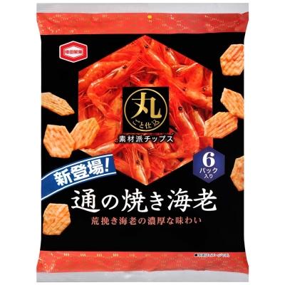 龜田製果 燒蝦餅(76g)