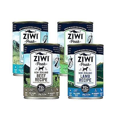 ZiwiPeak巔峰 92%鮮肉狗罐頭 *四口味混搭 390G(一箱12罐)