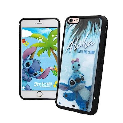 迪士尼正版 iPhone 6s/6 4.7吋 史迪奇布偶版 防滑手機殼(Hi)