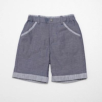 PIPPY 率性5分短褲 藍