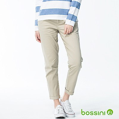 bossini女裝-彈力修身褲02淺卡其