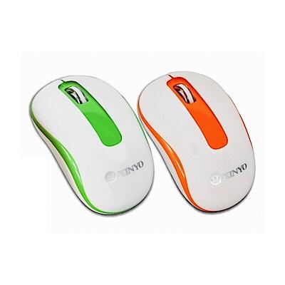 KINYO藍光2.4GHz無線滑鼠GKM-533
