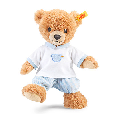 STEIFF德國金耳釦泰迪熊 - 晚安小熊 25cm (北鼻玩偶)