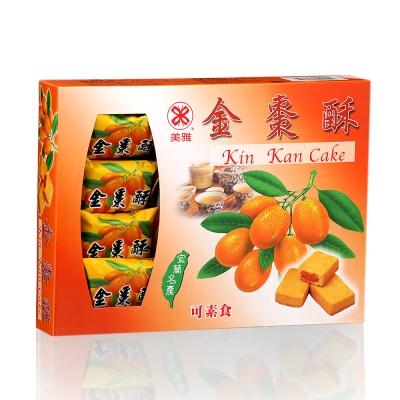 美雅宜蘭餅 金棗酥x3盒