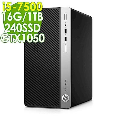 HP 400G4 i5-7500/16G/1T+240SSD/GTX1050/W10P