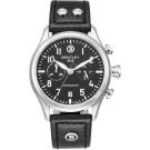 BENTLEY 賓利 AVIATOR系列 遨翔菁英計時手錶-黑x黑/43mm